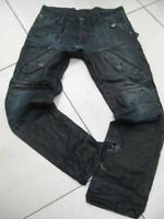 Mens G-STAR JEANS denim SCUBA ELWOOD TAPERED JEANS size W 32  L 32 gstar g star