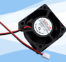 12V DC 40mm 20mm 2 Wire Computer PC CPU Cooling Case Fan