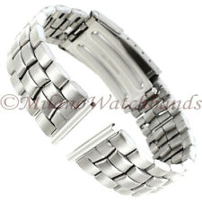 20mm Hirsch All Titanium W/ Stainless End Pieces Mens Security Clasp Watch Band