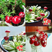 20 pcs Miniature Fairy Garden Ornament Dollhouse DIY Kit Craft Decor for Kids
