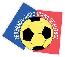 "Andorra Andorrana National Football Federation Association sticker decal 5"" x 4"""