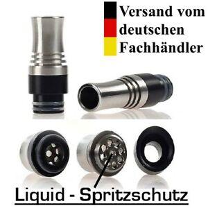 DripTip 510er Mundstück Verdampfer e-zigarette Drip Tip mit Liquid Spritzschutz