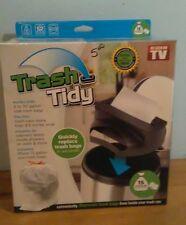 Trash Tidy AS Seen On TV - Trash Bag Dispenser - Kitchen Organization