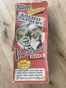 Rare, Vintage Early 1950's Archie Andrews Ventriloquist Puppet. Made By Palitoy.