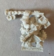 Warhammer Sigmar Dwarf Runelord with Great Weapon Finecast New on Sprue