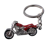 Motorcycle Key Chain Metal Moto Bike Car Keytag Men Women Holder Ring Tag Gift
