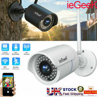 ieGeeK WIFI 1080P IP Camera Wireless Outdoor CCTV HD Home Security IR Cam Night