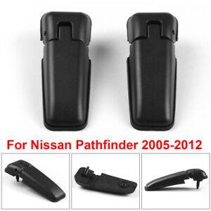 For Nissan Pathfinder 2005-2012 Left+Right Car Rear Tailgate Window Glass Hinges