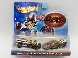 Hot Wheels Yu-Gi-Oh vs. Slifer the Sky Dragon 1/64 Scale FREE SHIPPING