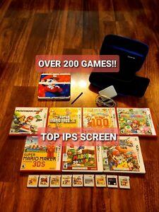 TOP IPS CONFIRM 2015+ NINTENDO NEW 3DS SUPER MARIO 3D LAND EDITION W/ 200+ GAMES