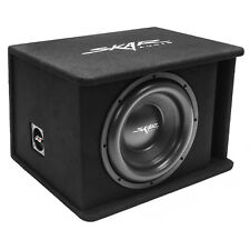 "NEW SKAR AUDIO SDR-1X12D2 SINGLE 12"" 1200W DUAL 2 OHM LOADED SUBWOOFER ENCLOSURE"