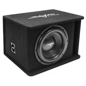 "NEW SKAR AUDIO SDR-1X12D2 1200 WATT SINGLE 12"" LOADED VENTED SUBWOOFER ENCLOSURE"