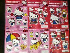 Hello Kitty Wall Stickers Adesivi murali Removibili 6 fogli 42 adesivi