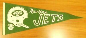 1969 New York Jets Felt Pennant Super Bowl III