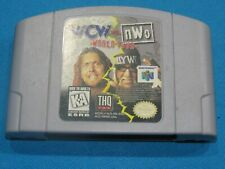 WCW vs NWO World Tour Nintendo 64 N64 Video Game TESTED!
