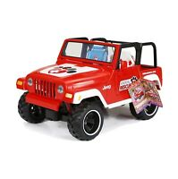 "My Life As Animal Rescue Remote Control Red Jeep! Brand New! For 18"" Dolls"