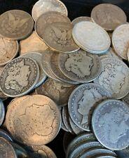 1 Coin 100+ Year Old 1878-1904 Morgan Us Silver Dollars Eagle 90% Bulk Cull Lot