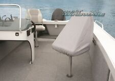Boat SEAT COVER  Bench/Pedestal Fixed/Folding Seat L460xW510xH480mm Small Grey