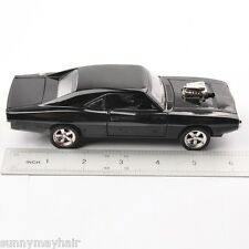 1969 Dodge Charger Classic Car Truck Black Alloy Diecast Vehicles 1/32 Kids Toy