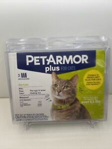 Pet Armor Plus For Cats & Kittens Over 1.5 lb Flea and Tick Squeeze-On 3 Appl