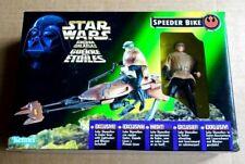 Kenner Star Wars Speeder Bike With Luke Skywalker Figure in Endor Gear 1996