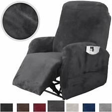 Stretch Recliner Chair Slipcover Velet Sofa Couch Cover Protector