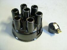 29 30 31 32 33 34 Studebaker 6 Black Distributor Cap & Rotor Set Copper Contacts