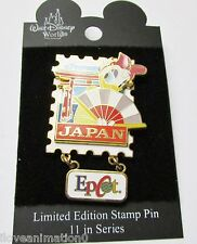 Disney EPCOT Stamp Pin Series #7 Japan Daisy Pin