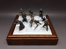 Miniature Soldiers Winter Diorama
