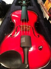 Barcus-Berry Acoustic-Electric Violin - Electric Red (BAR-AEVR-U)
