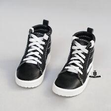 1/4 BJD Shoes MSD Dollfie DOD AOD LUTS SOOM MID EID Black Casual boots Sneaker