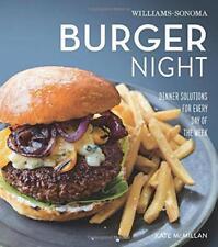 Burger nuit (Williams-Sonoma) par Mcmillan, Kate Livre relié 978161628734