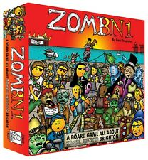 ZomBN1: A Board Game All About Zombie Infested Brighton (new, 2nd edition)