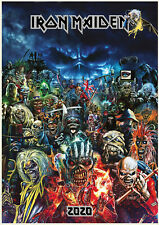 2020 Wall Calendar [12 pages A4] IRON MAIDEN EDDIE Music Poster Photo M1500