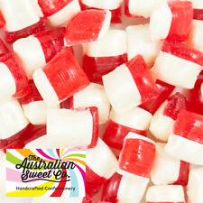 1kg Strawberry & Cream Rock Candy boiled bulk lollies - Wedding Favours Party