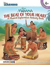 Moana The Beat Of Your Heart (Book/Download) by Disney Learning (Paperback,...