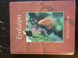 Evolution D.J.Futuyma. Third edition, hardback.