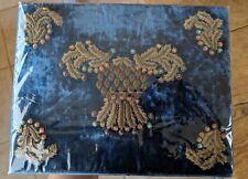New Mackenzie Childs Highbrook Zardozi Embroidered Box - Exquisite