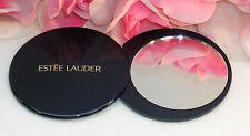 "New Estee Lauder Swivel Mirror Home Purse Office Travel Slim Blue Case 3"" x 1/4"""