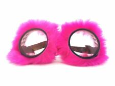 Fluffy Pink Goggles