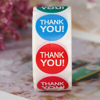 500x/roll Thank You Sticker gift Packaging Sticker stationery sticker YK