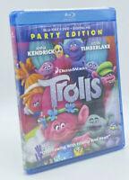 Trolls  [2017] Blu-ray+DVD+Digital HD