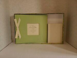 "Winnie The Pooh Green Scrapbook 10""×8.75"" And Ivory Photobook and Keepsake Box"