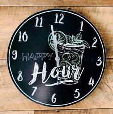 Happy Hour Colourful Mojito Cocktail Clock  CK0017-GR