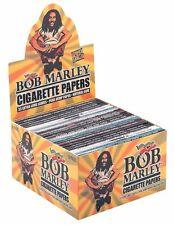 1 Box Smoking Bob Marley King Size Papers aus Hanf - 50 Heftchen x 33 Blättchen