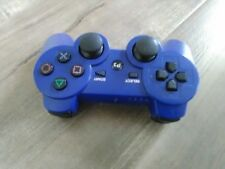PS3 Playstation Blue Dualshock 3 Controller Gamepad CECHZC2U(no sony)