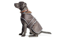 Ancol Muddy Paws Stormguard Fleece Harness Compatible Lined Waterproof Dog Coat Chocolate X Small