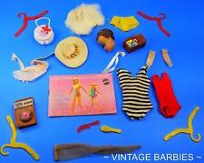 Barbie Doll Mixed Accessories Lot #6 Excellent - Tlc ~ Vintage 1960's