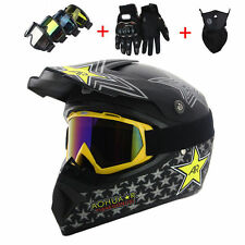 HOT Full Face Motorcycle Helmet Mountain Helmet Motorcycle Motocross FREE GIFTS