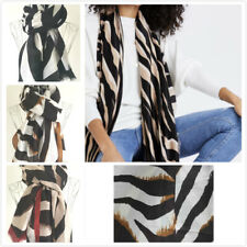 Ladies Zebra print Scarf Womens Wrap Shawls Spring Summer Fashion Soft